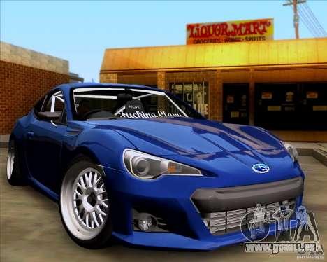 Subaru BRZ Stance pour GTA San Andreas