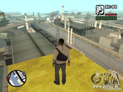 Desmond Miles pour GTA San Andreas troisième écran