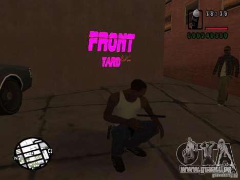 Nouveaux gangs de graffiti pour GTA San Andreas troisième écran