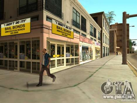 Neue Texturen Downtown Los Santos für GTA San Andreas siebten Screenshot
