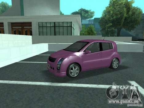 Toyota WiLL Cypha für GTA San Andreas Innenansicht