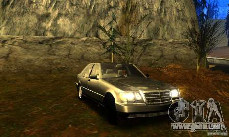 Mercedes-Benz 600SEL v2.0 für GTA San Andreas zurück linke Ansicht