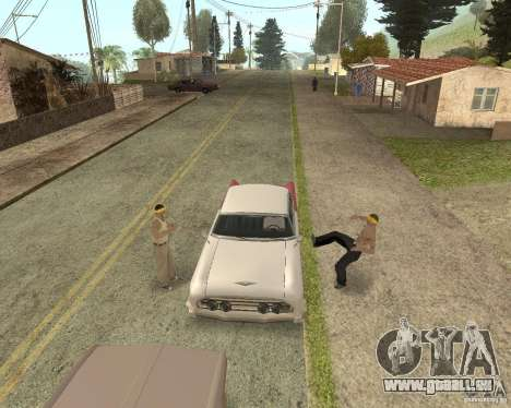 More Hostile Gangs 1.0 für GTA San Andreas neunten Screenshot