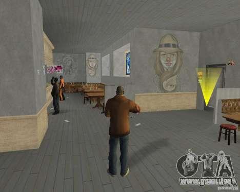 Nouvelles textures, des restaurants et des bouti pour GTA San Andreas neuvième écran