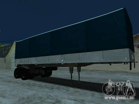 Trailer für Kamaz 5410 für GTA San Andreas