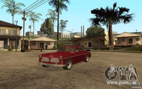 Volvo Amazon 1968 für GTA San Andreas