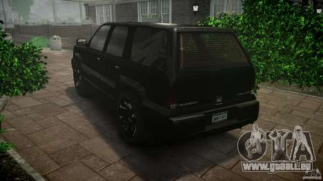 Cavalcade FBI car für GTA 4 hinten links Ansicht