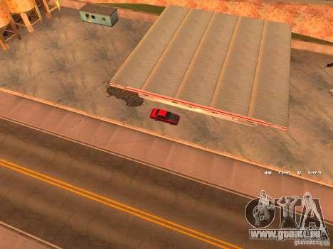 Previon GT für GTA San Andreas Rückansicht