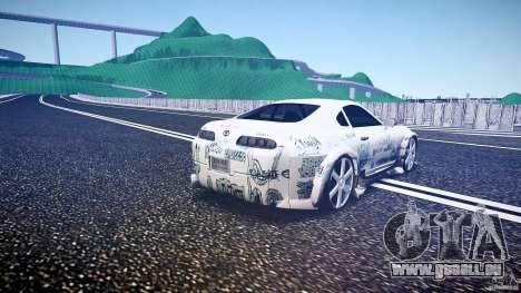 Toyota Supra ProStreet Style für GTA 4 Seitenansicht
