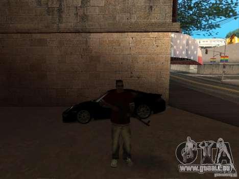 AK-47 HD pour GTA San Andreas troisième écran