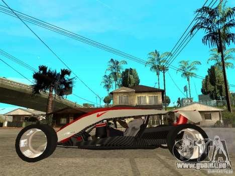 Nike One pour GTA San Andreas laissé vue