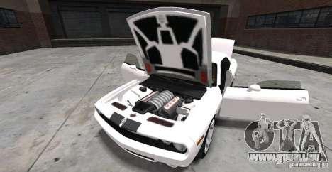 Dodge Challenger 2006 pour GTA 4 Vue arrière