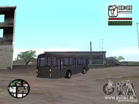 FBW Hess 91U für GTA San Andreas rechten Ansicht