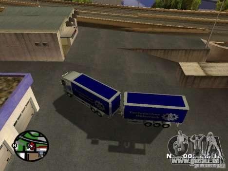 Iveco Stralis für GTA San Andreas rechten Ansicht