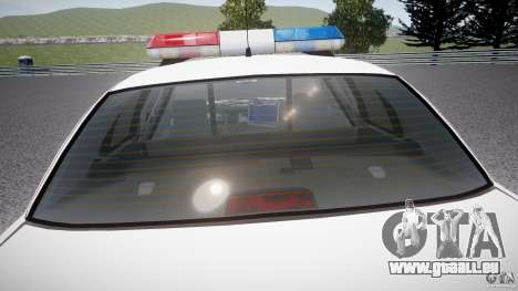 Ford Crown Victoria Karachi Traffic Police pour GTA 4 Salon