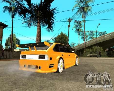 Moskvich 2141 STR (TUNING dur) pour GTA San Andreas sur la vue arrière gauche