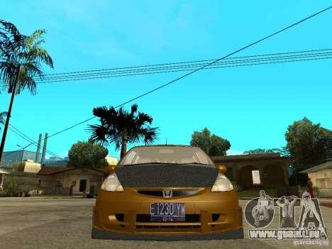 Honda Jazz Sport pour GTA San Andreas vue de droite