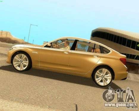 BMW 550i GranTurismo 2009 V1.0 für GTA San Andreas linke Ansicht