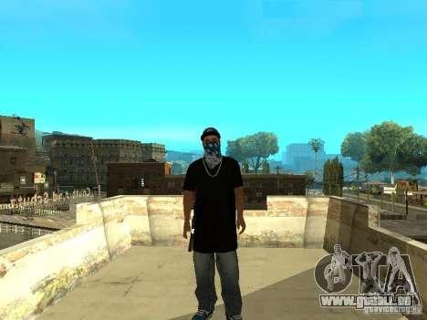 Varrios Los Aztecas Gang Skins pour GTA San Andreas