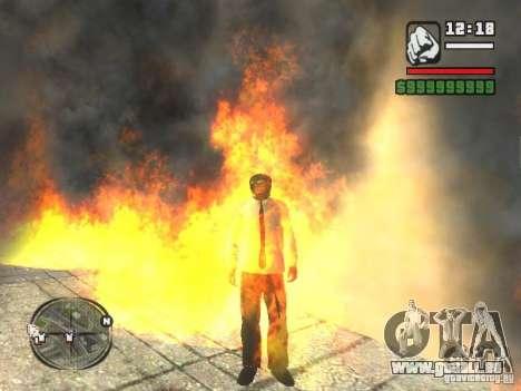 Black Helmet pour GTA San Andreas quatrième écran