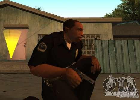 Pak domestique armes améliorés pour GTA San Andreas deuxième écran