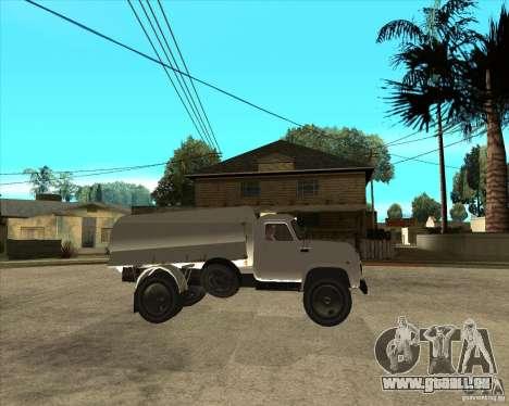 LKW GAZ-52-Kraftstoff für GTA San Andreas rechten Ansicht