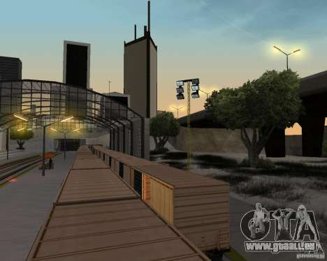 Nouvelle station de chemin de fer pour GTA San Andreas dixième écran