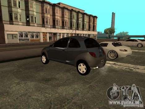 Ford Ka 1998 pour GTA San Andreas laissé vue
