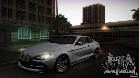 BMW 640i Coupe für GTA San Andreas Innenansicht