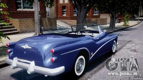 Buick Skylark Convertible 1953 v1.0 pour GTA 4 est une vue de dessous