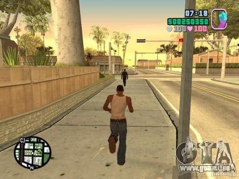 Vice City Hud für GTA San Andreas