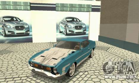 Ford Mustang Mach 1 1971 pour GTA San Andreas vue intérieure
