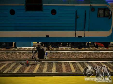 Nouveaux Rails pour GTA San Andreas cinquième écran