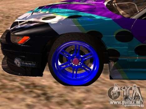 Nissan Sil80 Nate Hamilton pour GTA San Andreas vue de droite
