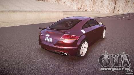 Audi TT RS v3.0 2010 pour GTA 4 vue de dessus