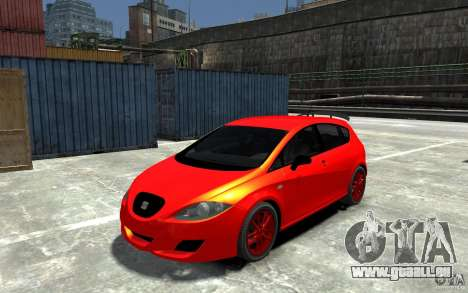 Seat Leon Cupra Light Tuning für GTA 4