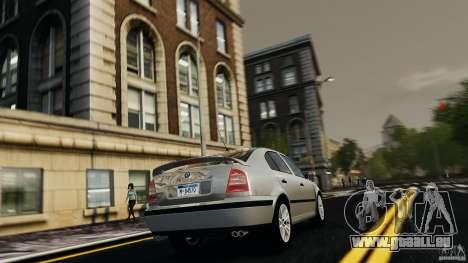 Skoda Octavia v.1.0 pour GTA 4 est un droit