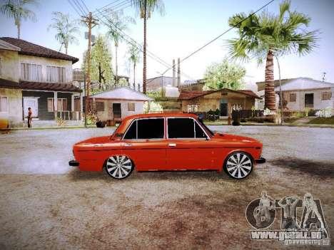VAZ 2106 Fanta pour GTA San Andreas laissé vue