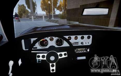 Pontiac Firebird 1971 pour GTA 4 est un droit