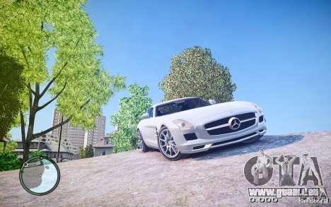 Mercedes-Benz SLS63 AMG für GTA 4