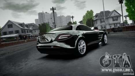Mercedes-Benz SLR McLaren 2005 v1.0 pour GTA 4 est une vue de l'intérieur