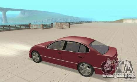 Lexus GS430 1999 für GTA San Andreas rechten Ansicht