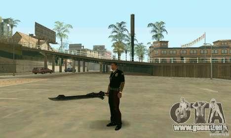 Schwert des Nero in Devil May Cry 4 für GTA San Andreas dritten Screenshot