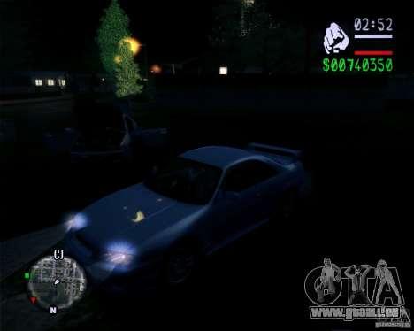 Nouveaux graphismes dans le jeu 2011 pour GTA San Andreas troisième écran