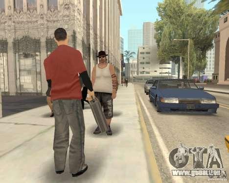 Pedy mit Taschen für GTA San Andreas