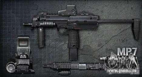 [Point Blank] MP7 pour GTA San Andreas
