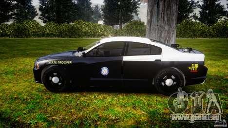Dodge Charger 2012 Florida Highway Patrol [ELS] pour GTA 4 est une gauche