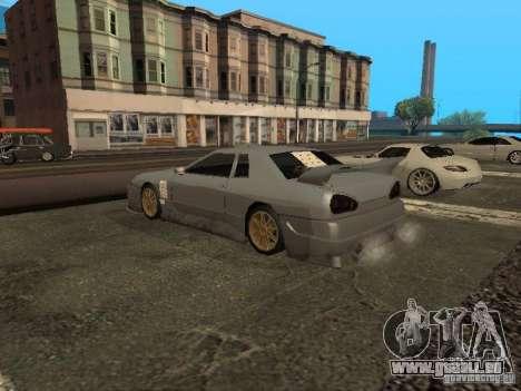 Élégie standard pour GTA San Andreas vue de droite