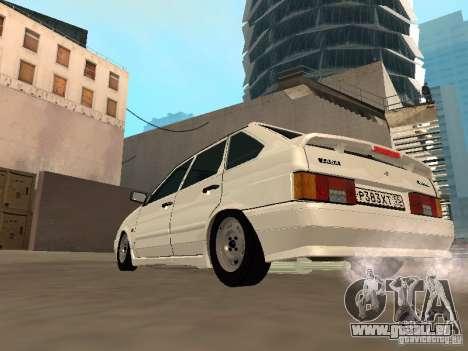 ВАЗ 2114 Drain pour GTA San Andreas vue de droite