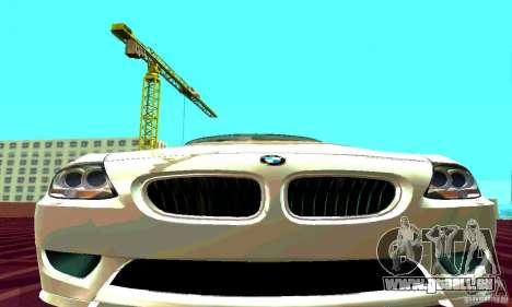 BMW Z4 E85 M pour GTA San Andreas vue de droite